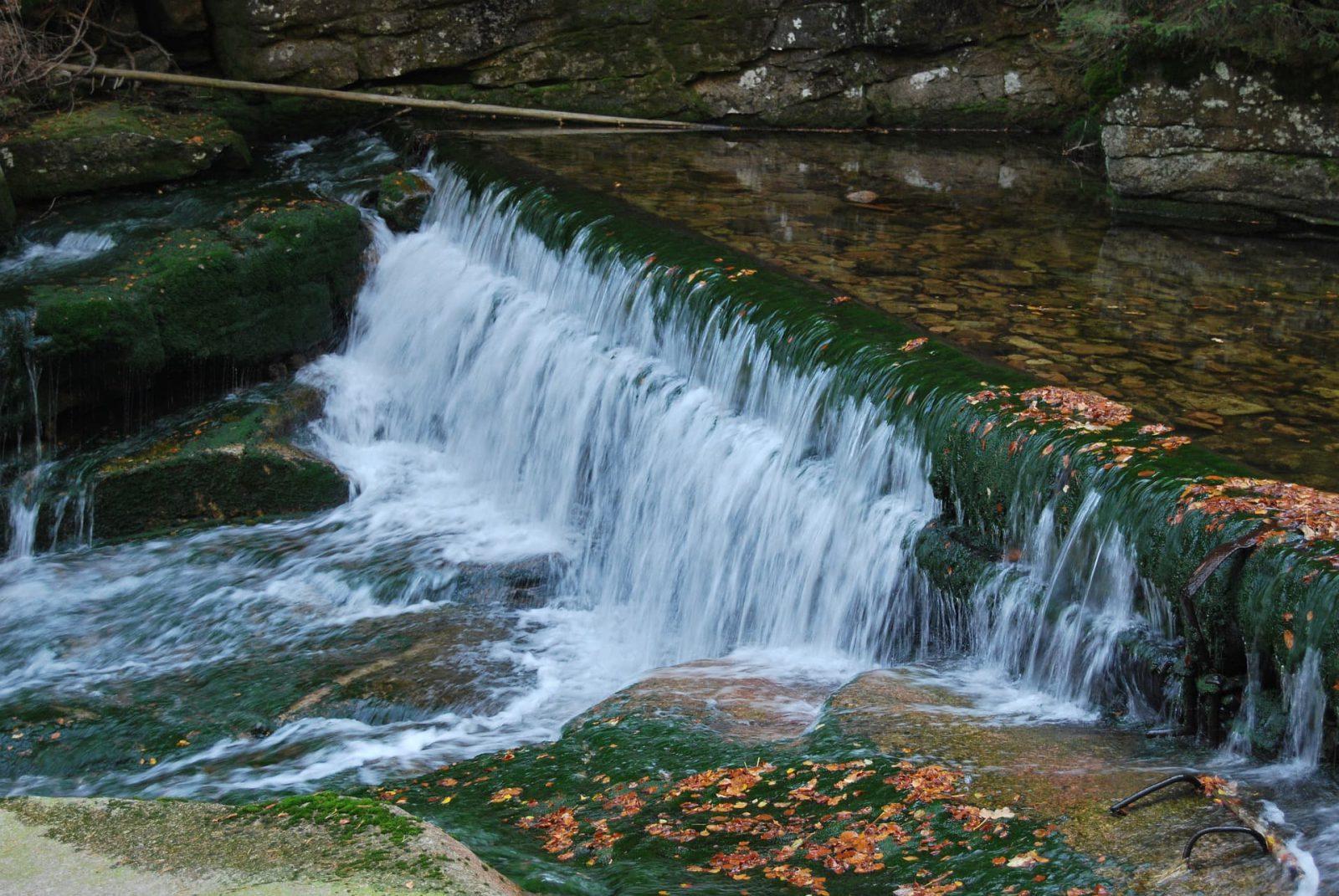 Wodospad Szklarki - Karkonoski Park Narodowy