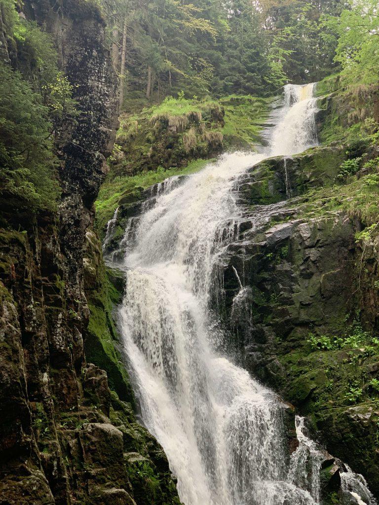 Szklarska Poręba Wodospad Kamieńczyka
