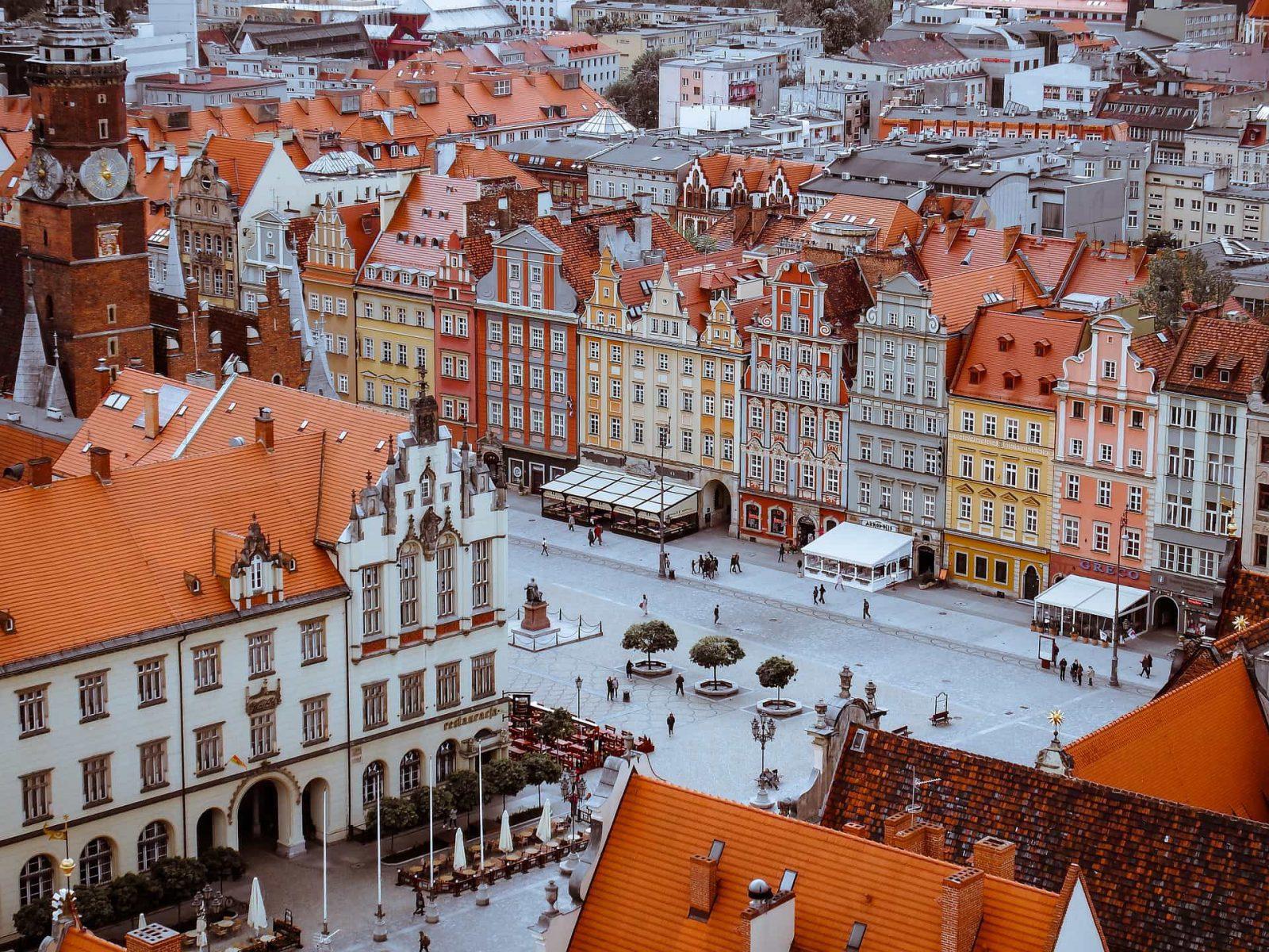Wrocław Rynek i okolice