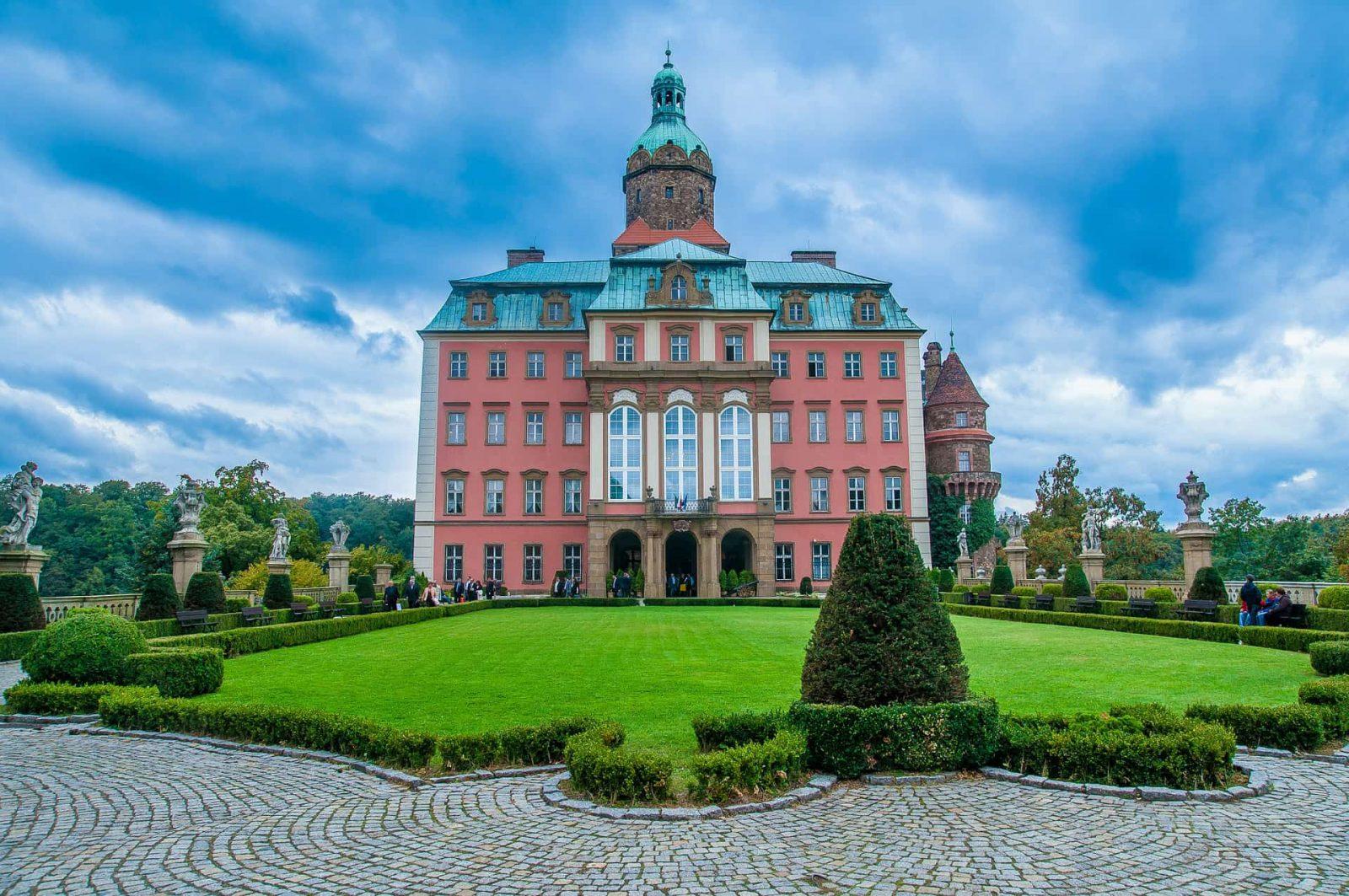 Zamek Książ na Dolnym Śląsku