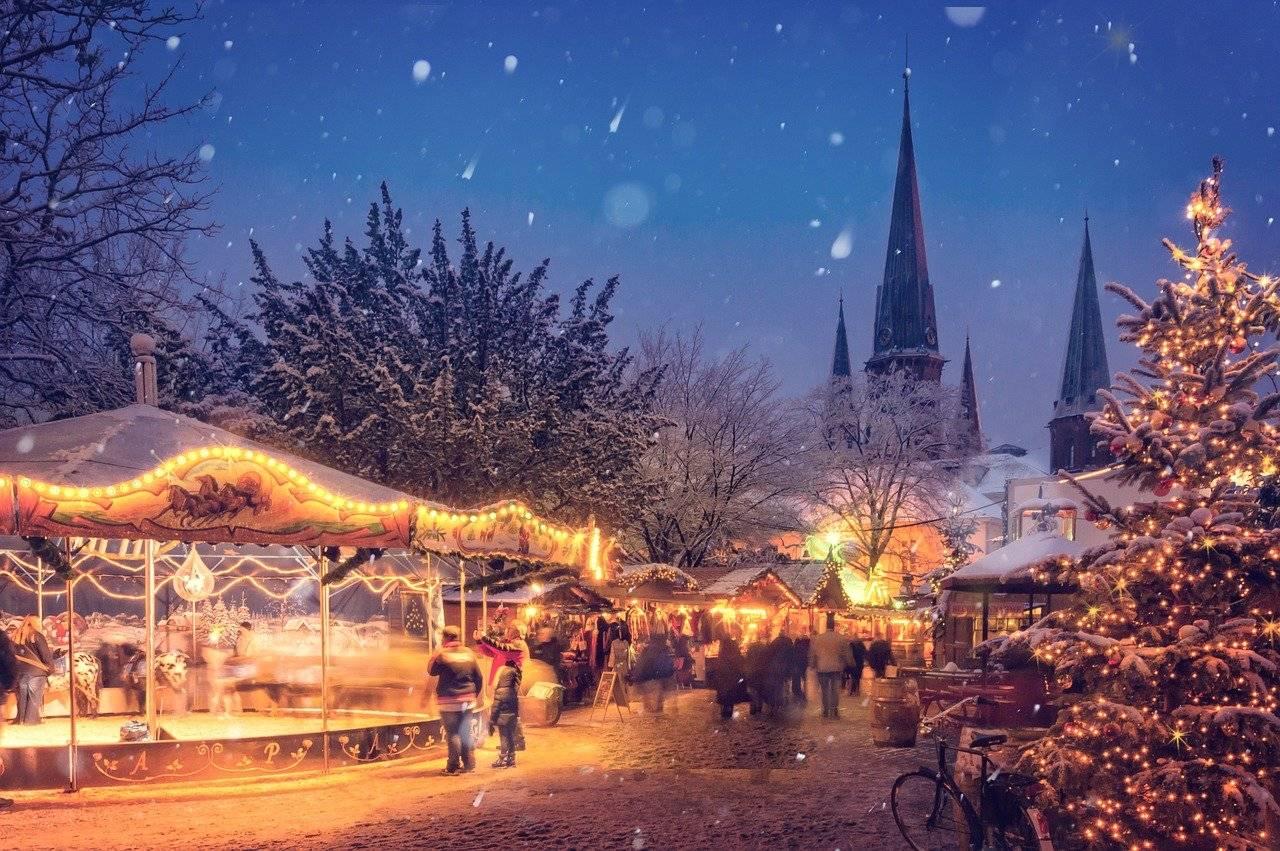 Klimatyczne, świąteczne zdjęcia na jarmarkach Bożonarodzeniowych