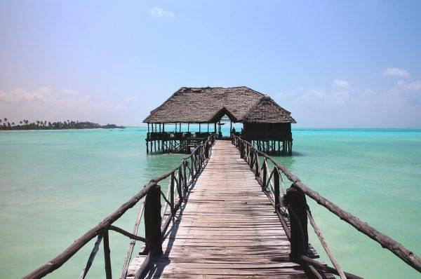 7 Instagramowych plaż Zanzibar